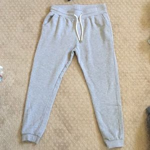 forever 21 gray joggers